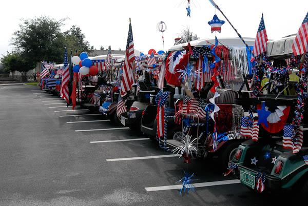 American Pride Golf Cart Parade | Stone Creek Photos on betty boop july 4th, golf cart decorating ideas, golf cart christmas sleigh,